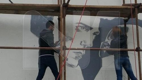 Bowie mural SA
