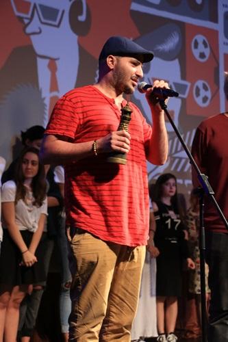 Oren Adaf, dobitnik Dimnjak nagrade, foto Ivana Nedeljkovic