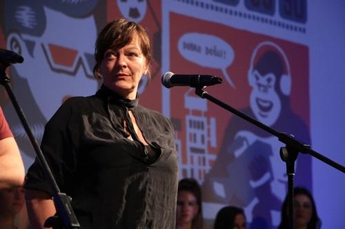 Valerie Massadian, dobitnica Specijalnog priznjanja selekcije Svetionici, foto Ivana Nedeljkovic