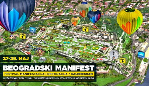 Beogradski Manifest 2016. Kalemegdan